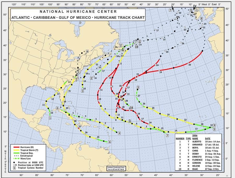 Hurricane john 2006