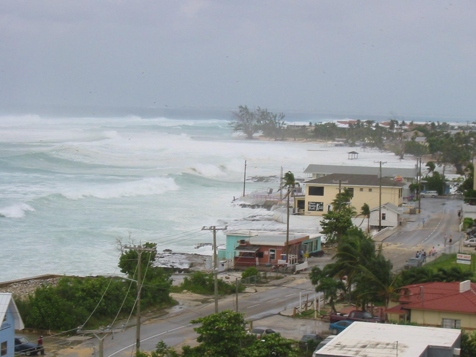 Výsledek obrázku pro grand cayman island hurricane